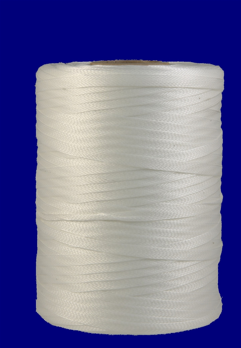 Dhs 1cl Heat Shrinkable Flat Braided Polyester Tapes Tie Cord